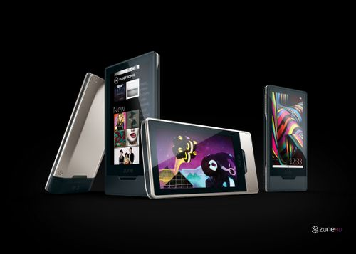 Zune HD. Picture courtesy of Microsoft Press Pass