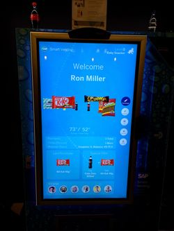 SAP Vending Machine