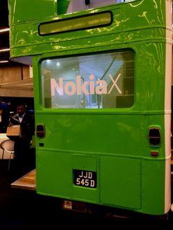 Nokia x bus